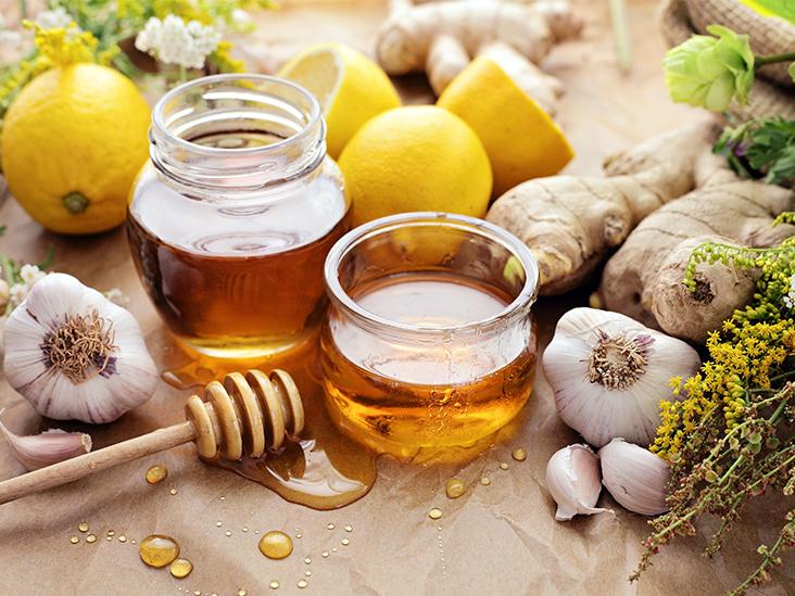 Ginger, Garlic and Honey Mixture Benefits